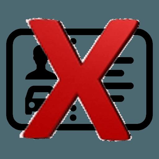 Rijbewijs ongeldig verklaard